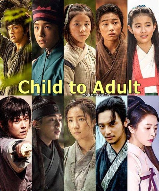 Child to Adult